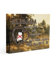 Alabama A Place Your Feet May Leave Gallery Wrapped Canvas Prints tile