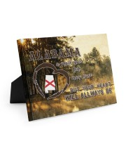Alabama A Place Your Feet May Leave Easel-Back Gallery Wrapped Canvas tile