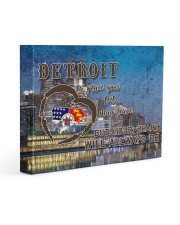 Detroit A Place Your Feet May Leave Gallery Wrapped Canvas Prints tile