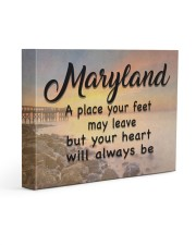 Maryland A Place Your Feet May Leave Gallery Wrapped Canvas Prints tile