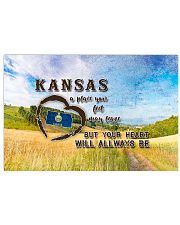 Kansas A Place Your Feet May Leave 17x11 Poster front