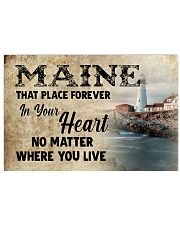 Maine Forever In Your Heart MRPT0304 17x11 Poster front