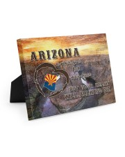 Arizona A Place Your Feet May Leave Easel-Back Gallery Wrapped Canvas tile
