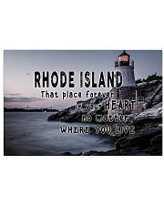 Rhode Island That Place Forever In Your Heart 17x11 Poster front