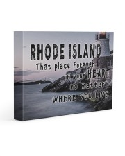 Rhode Island That Place Forever In Your Heart Gallery Wrapped Canvas Prints tile