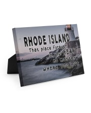 Rhode Island That Place Forever In Your Heart Easel-Back Gallery Wrapped Canvas tile