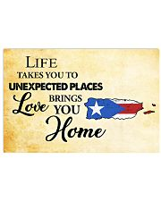 Puerto Rico Love Brings You Home MRPT0305 17x11 Poster front