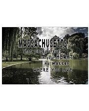 Massachusetts That Place Forever In Your Heart 17x11 Poster front