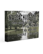 Massachusetts That Place Forever In Your Heart Gallery Wrapped Canvas Prints tile