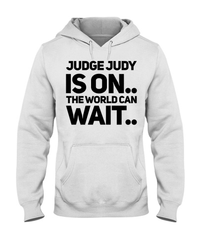 Judge Judy Is On The World Can Wait