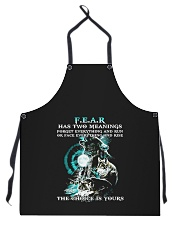 Wolf Apron front