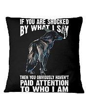Wolf Square Pillowcase tile