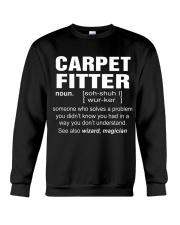 HOODIE CARPET FITTER Crewneck Sweatshirt thumbnail
