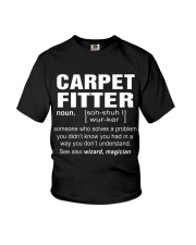 HOODIE CARPET FITTER Youth T-Shirt thumbnail