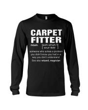 HOODIE CARPET FITTER Long Sleeve Tee thumbnail