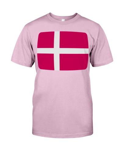 Denmark Flag Denmark Danmark Danish flag  TShirts