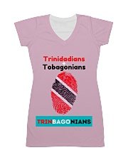 Trinidadians Tobagonians Trinbagonians All-over Dress front