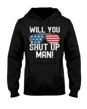 Will You Shut Up Man - Biden-Harris 2020 Hooded Sweatshirt thumbnail