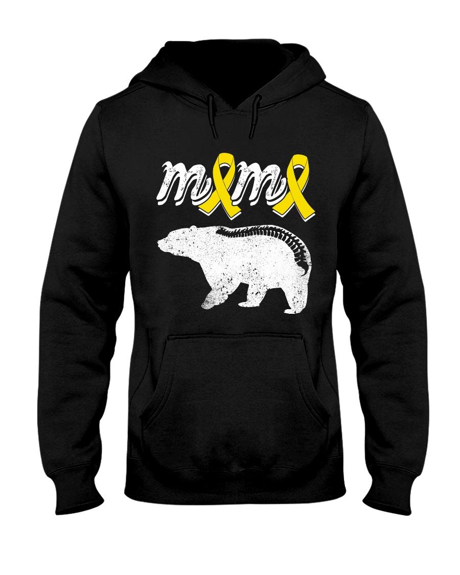 MAMA BEAR SPINA BIFIDA Hooded Sweatshirt