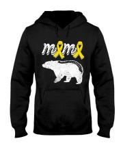MAMA BEAR SPINA BIFIDA Hooded Sweatshirt front