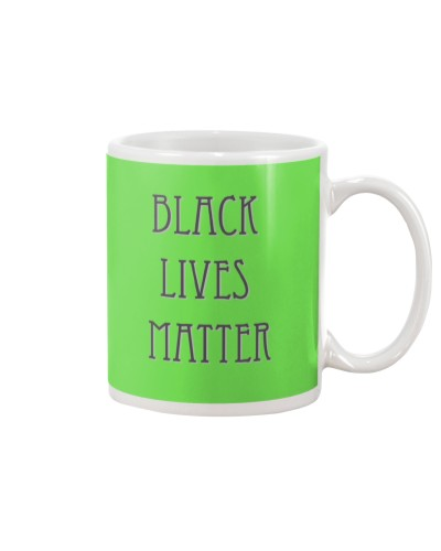 Simple Black Lives Matter Shirt in White Letters