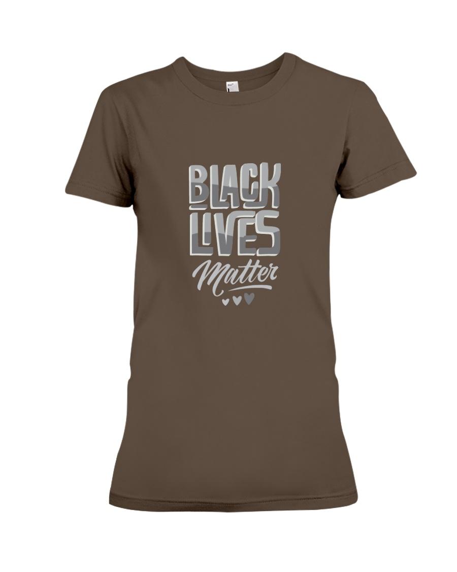 black lives matter Premium Fit Ladies Tee