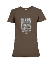 black lives matter Premium Fit Ladies Tee front