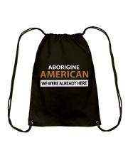 ABORIGINE AMERICANS  Drawstring Bag thumbnail