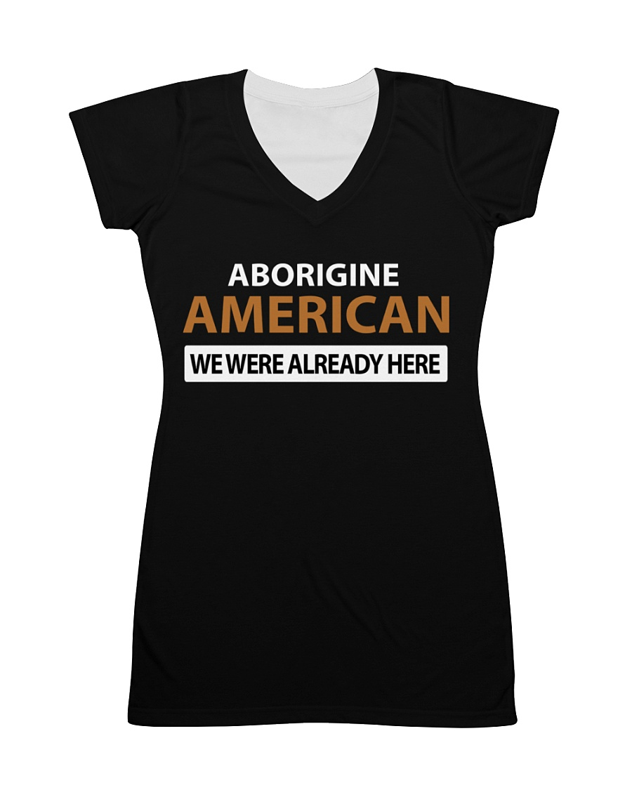 ABORIGINE AMERICANS  All-over Dress