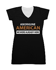 ABORIGINE AMERICANS  All-over Dress front