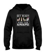 Get Ready For The Alpacalypse Llama Alpaca Lover Hooded Sweatshirt thumbnail