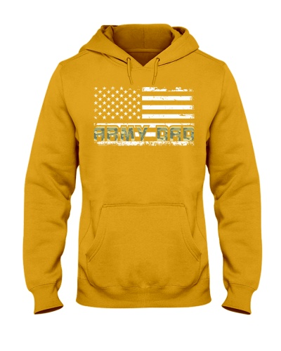 Proud Army Dad American Flag Veterans Day Father