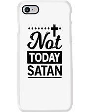 not today satan Phone Case thumbnail