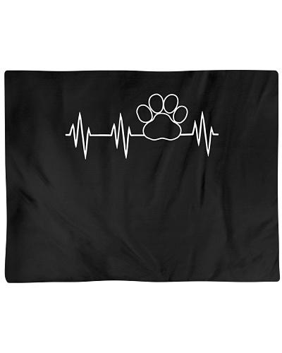 Paw Print Heartbeat TShirt Dog