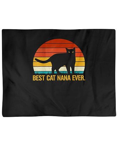 Best Cat Nana Ever Shirt Vintage Retro Cat Lover