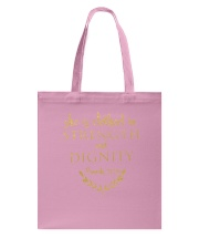 she is clothed in strength and dignity Tote Bag thumbnail