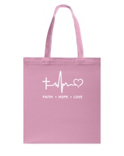FAITH     HOPE     LOVE Tote Bag thumbnail