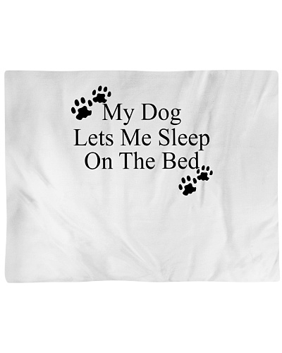 My Dog Lets Me Sleep On The Bed Puppy Lover