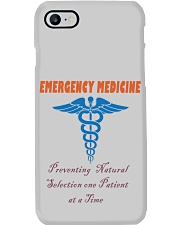 EMERGENCY MEDICINE Phone Case tile