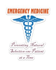 EMERGENCY MEDICINE Sticker - Single (Vertical) thumbnail