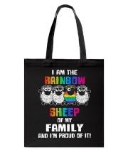 LGBT PRIDE  Rainbow Sheep  Tote Bag thumbnail
