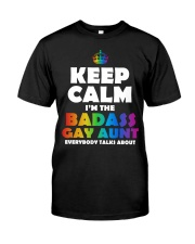 BADASS GAY AUNT Classic T-Shirt thumbnail