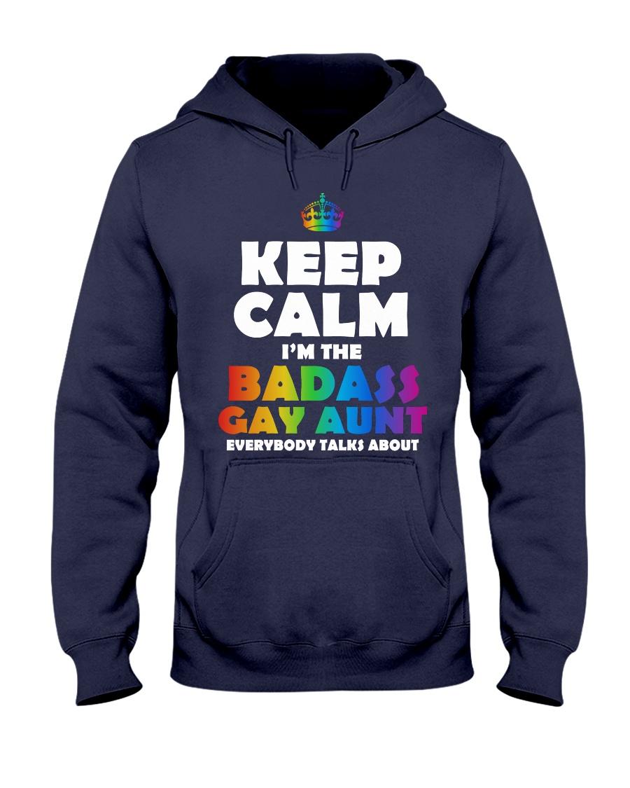 BADASS GAY AUNT Hooded Sweatshirt