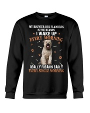 Bouvier des Flandres I Wake Up Every Morning 0203 Crewneck Sweatshirt thumbnail