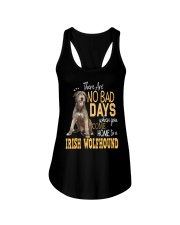 Irish Wolfhound There Are No Bad Days 0903 Ladies Flowy Tank thumbnail