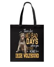 Irish Wolfhound There Are No Bad Days 0903 Tote Bag thumbnail