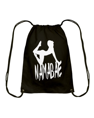 NAMABAE Namaste Yoga Pose Wordplay Funny Apparel