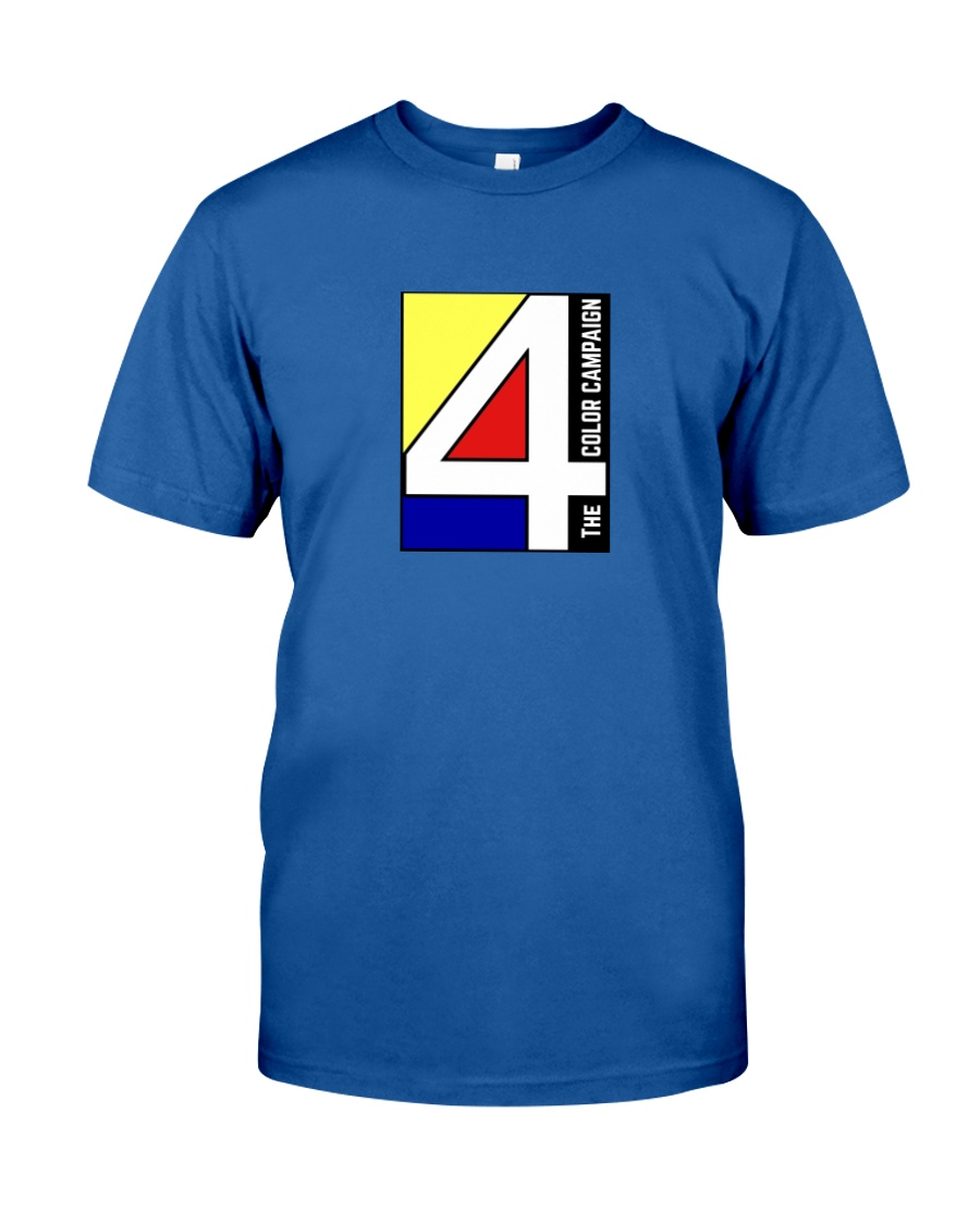 The 4 Color Campaign Classic T-Shirt