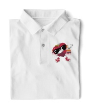 Happy Valentine's Day Classic Polo front