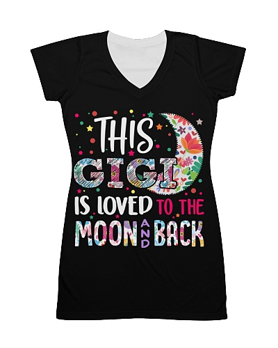 This Gigi is loved to the moon and back T-Shirt